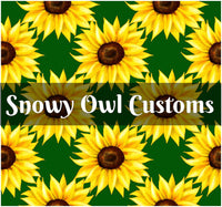 Sunflowers (Green) - RETAIL - ON SALE!