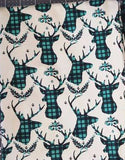 SOC Plaid BUCKS - Teal - ON SALE