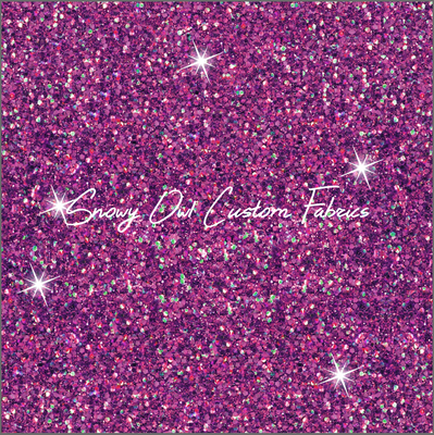 Wizardry Magenta Faux Glitter - SOC Unlimited