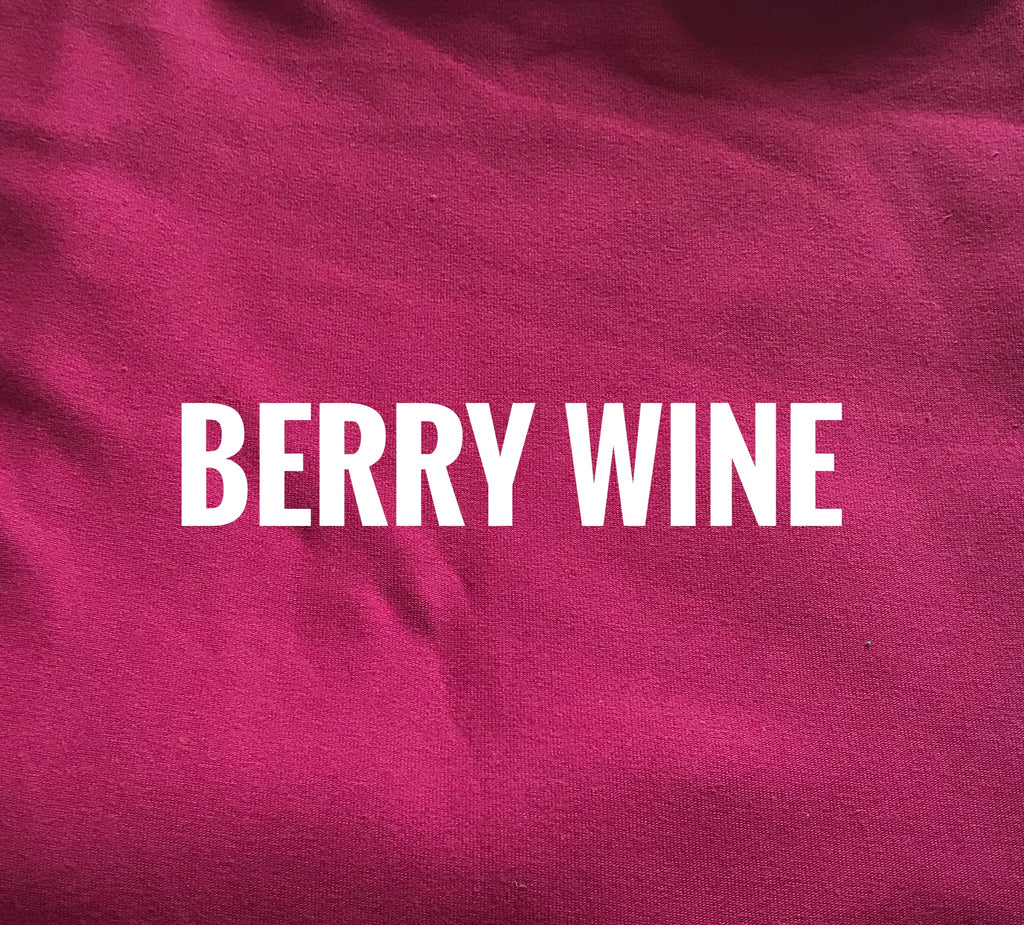 "#40 Berry Wine Lush  - 70"" WOF CL knit - ON SALE!"