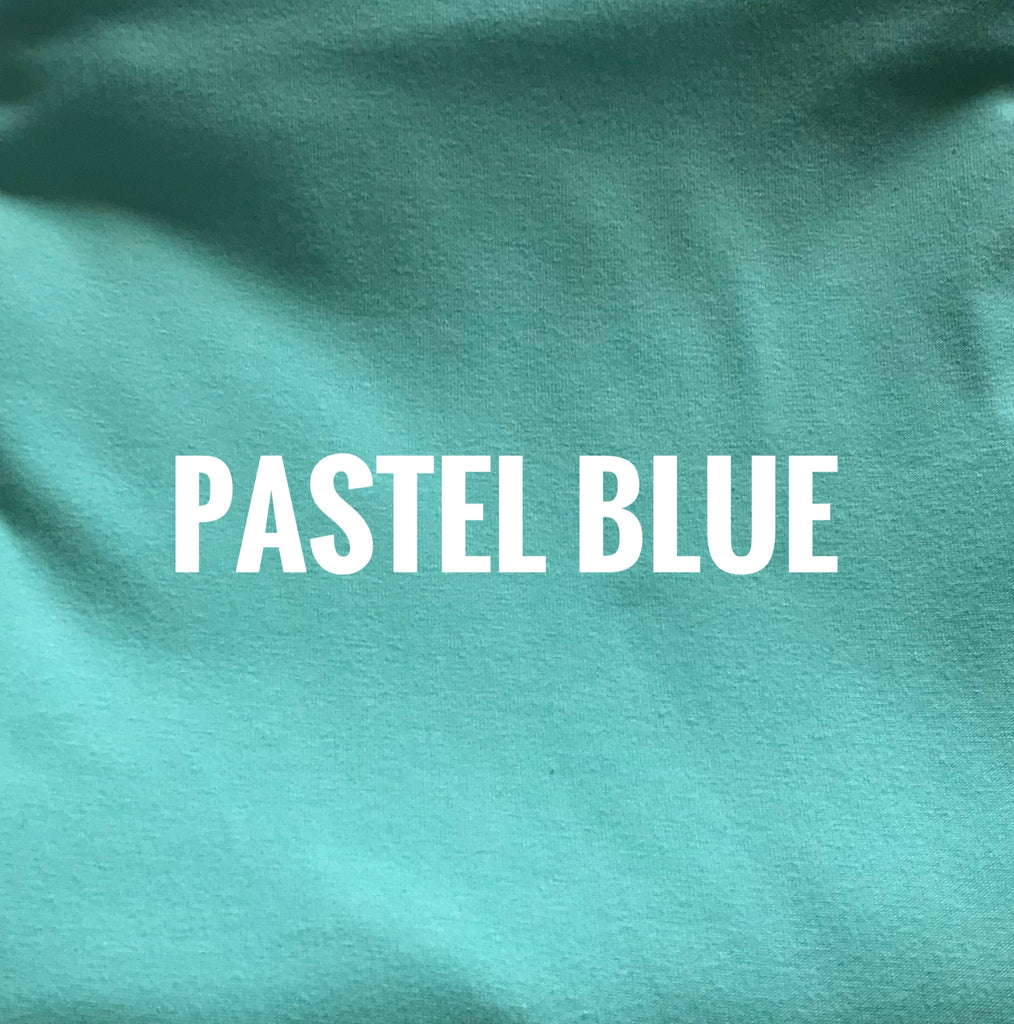 "Pastel Blue Lush - 70"" WOF CL KNIT - ON SALE!"