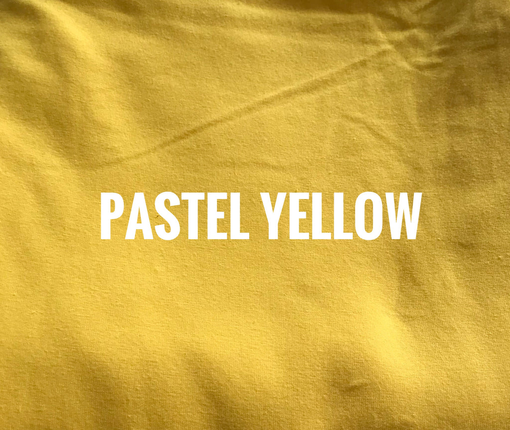"Pastel YELLOW Lush - 70"" WOF CL - ON SALE!"