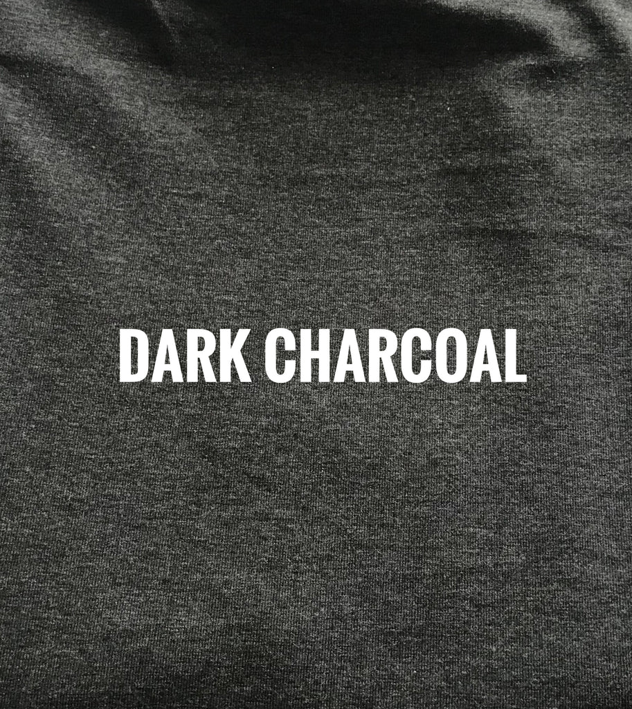 "Dark Charcoal Grey Lush  - 70"" WOF CL knit   - ON SALE!"