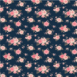 Navy Floral Reprint - SOC Unlimited