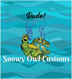 Dude! Turtles Panel-On Sale