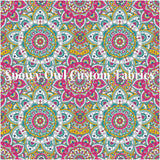 SOC Bright Mandala - CLUB PRINT -   **CLEARANCE**