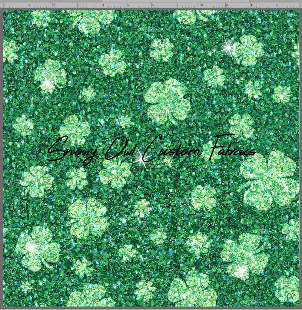 Shamrock Faux Glitter - SOC Unlimited