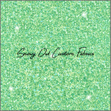 Soft Lucky Green Faux Glitter - SOC Unlimited