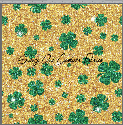 Sunshine Shamrock Faux Glitter - SOC Unlimited
