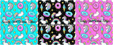 Unicorn Sprinkles (Black, Aqua, Pink)- SOC Unlimited
