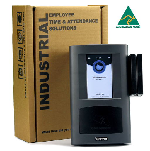 BundyPlus | Industrial Time and Attendance Terminal (G8-MAG) | Australian Made