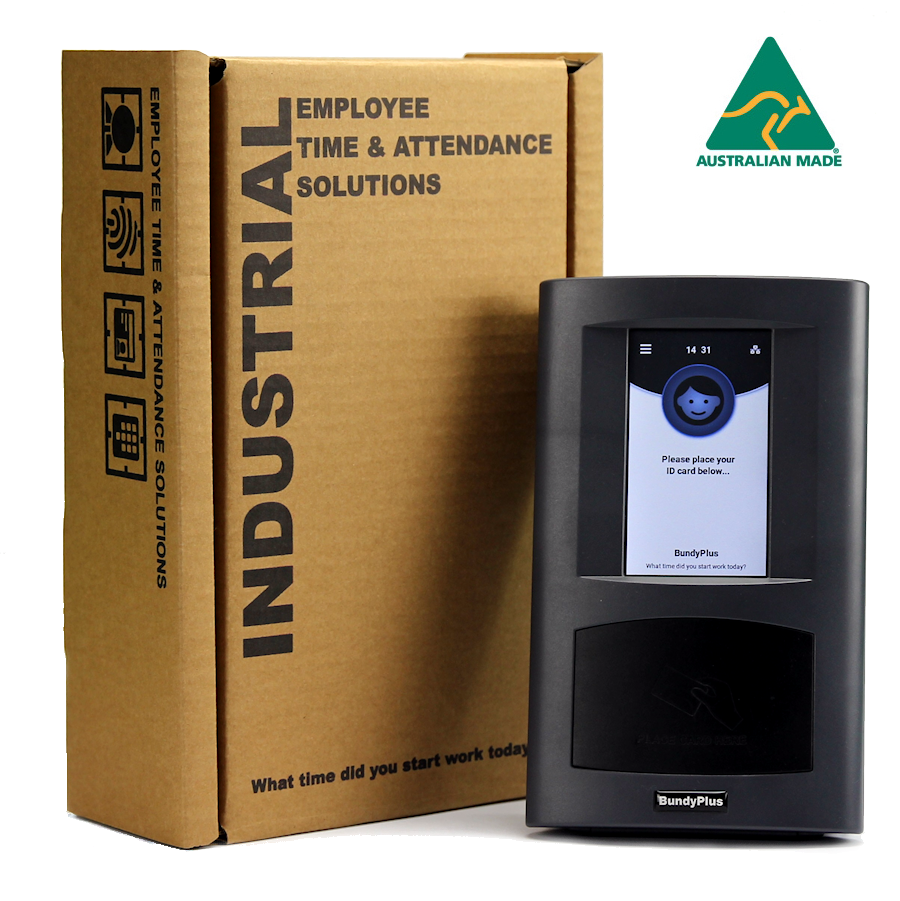 BundyPlus | Industrial Time and Attendance Terminal (G8-BIO) | Australian Made
