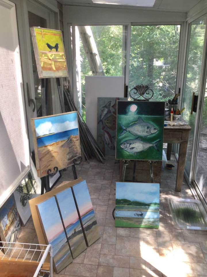Announcing My Solarium & Custom Art Studio at Cahoon Hollow