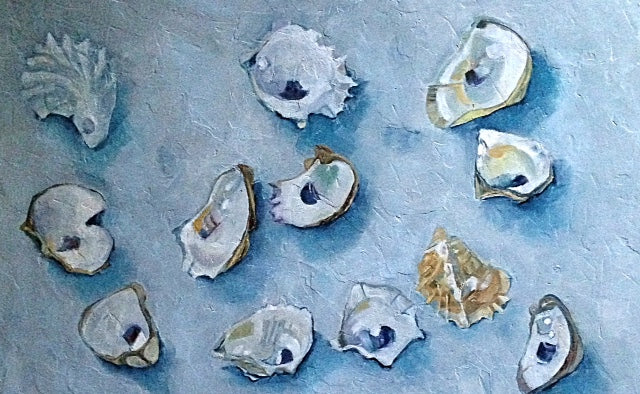 Twelve Wellfleet Oysters for New Jersey Home