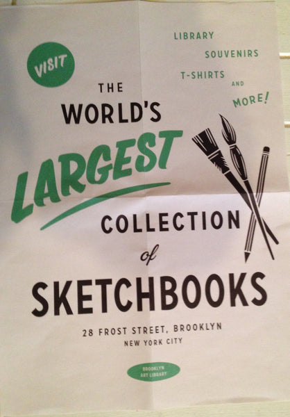 Sketchbook Project at the Brooklyn Art Library