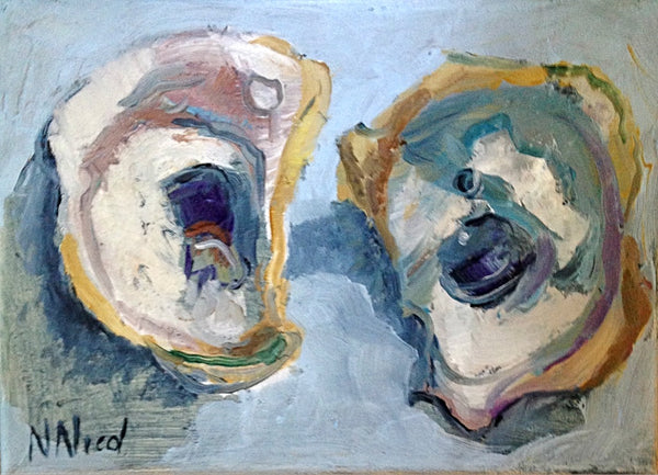 Wellfleet Oyster Paintings