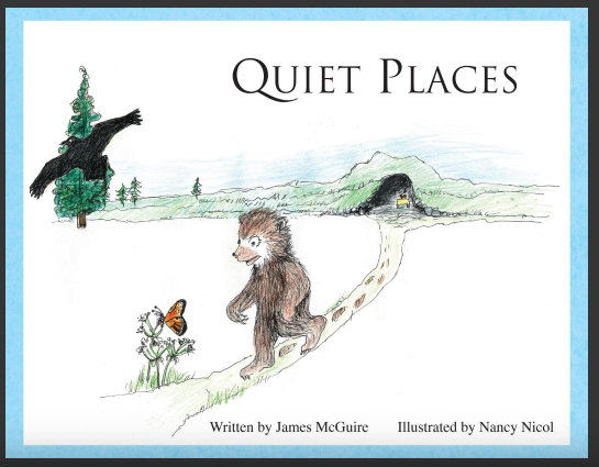 Quiet Places - (A Story about Timmy the Bear) is ready for publication