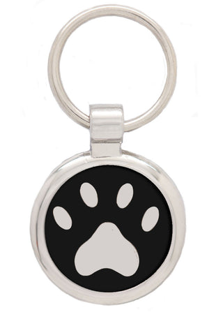 Extra Small Pink Fish Pet Tag