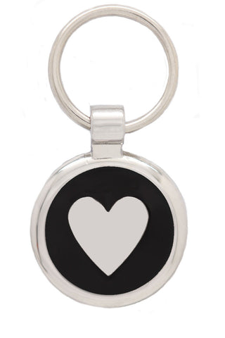 Extra Small Pink Love Heart Pet Tag