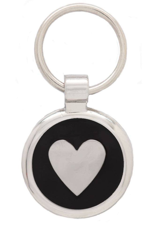 Fluro Pink Puppy Collar & Extra Small Heart Pet Tag - Pawprint Pet Tags