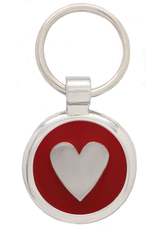 Black Puppy Collar & Extra Small Heart Pet Tag - Pawprint Pet Tags