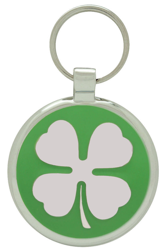 Lime Clover Pet Tag - Pawprint Pet Tags