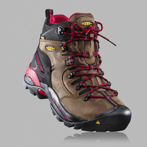 keen product photography hiking boot