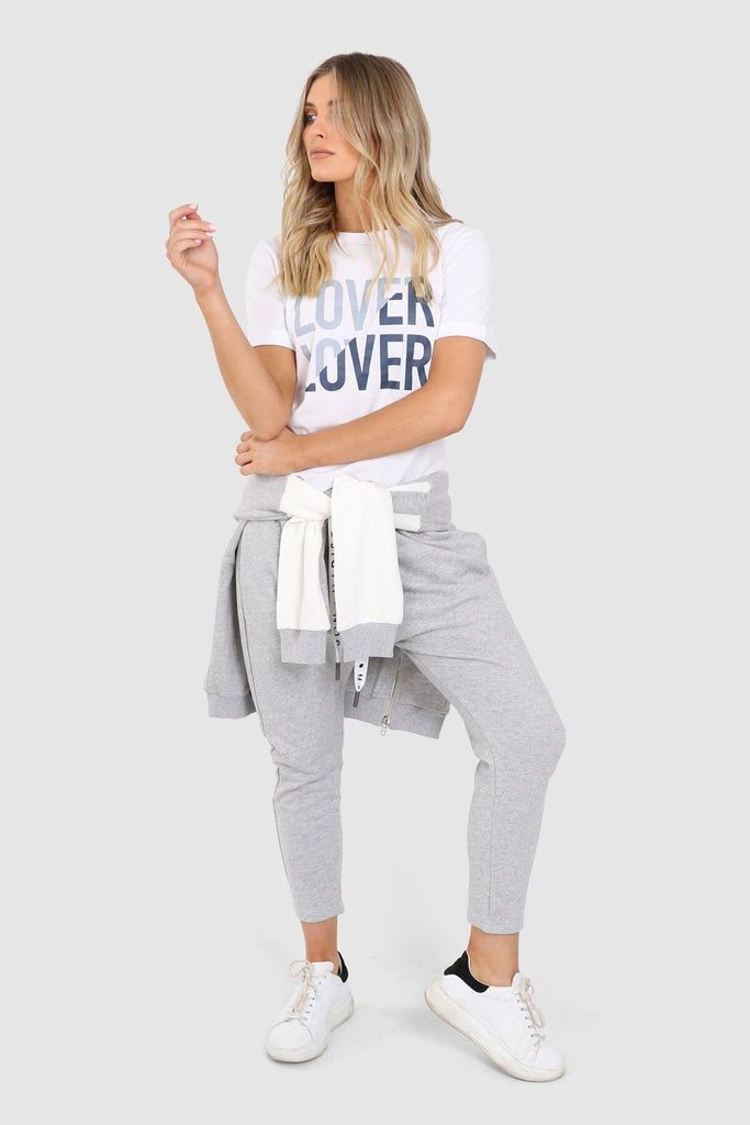Lover Love Tee | White
