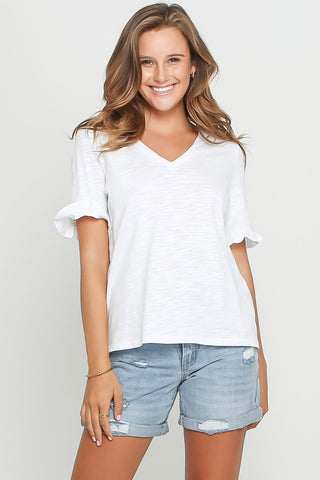 Hilda Top | White