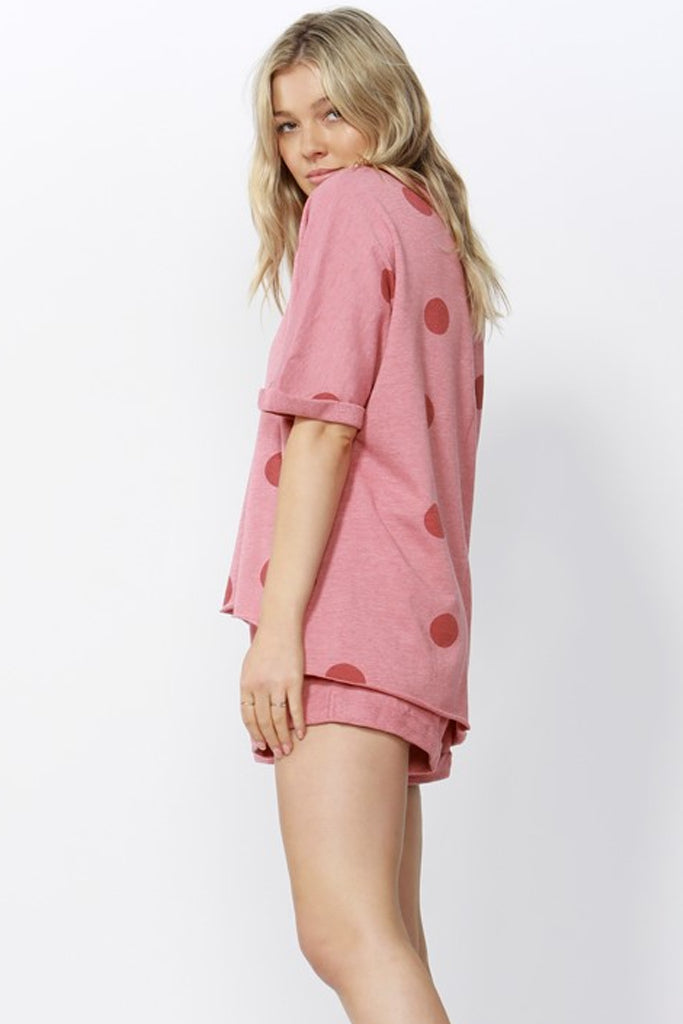 Chet Sleeveless Sweater | Rose