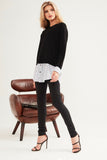 Dannie Knit | Black