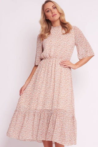 Esther Dress | White Floral