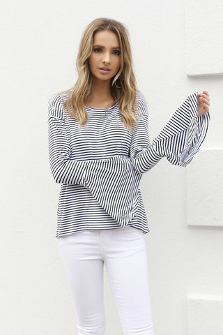 Sahara Top | Navy