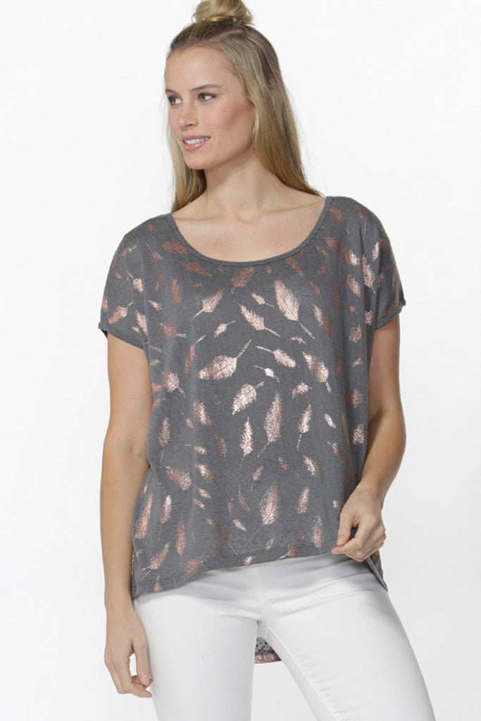 Keilani Feather Tee