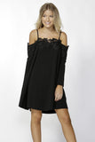 Klaire Lace Dress | Black
