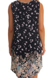 Mia Dress | Black Floral