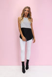 Nautical Nights Top | White