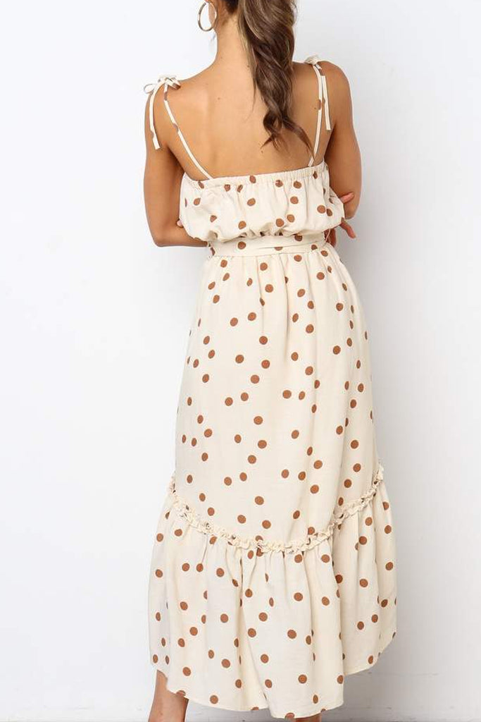 Penelope Dress | Beige
