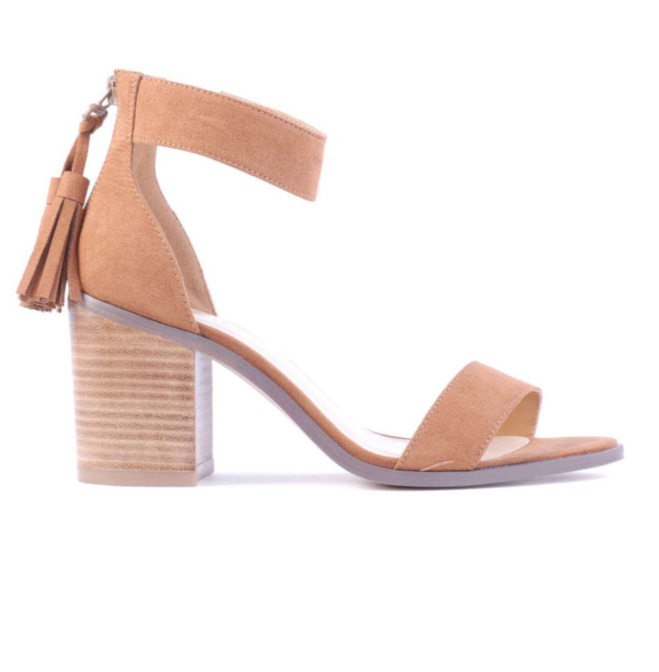 Rafael Heel | Dark Tan