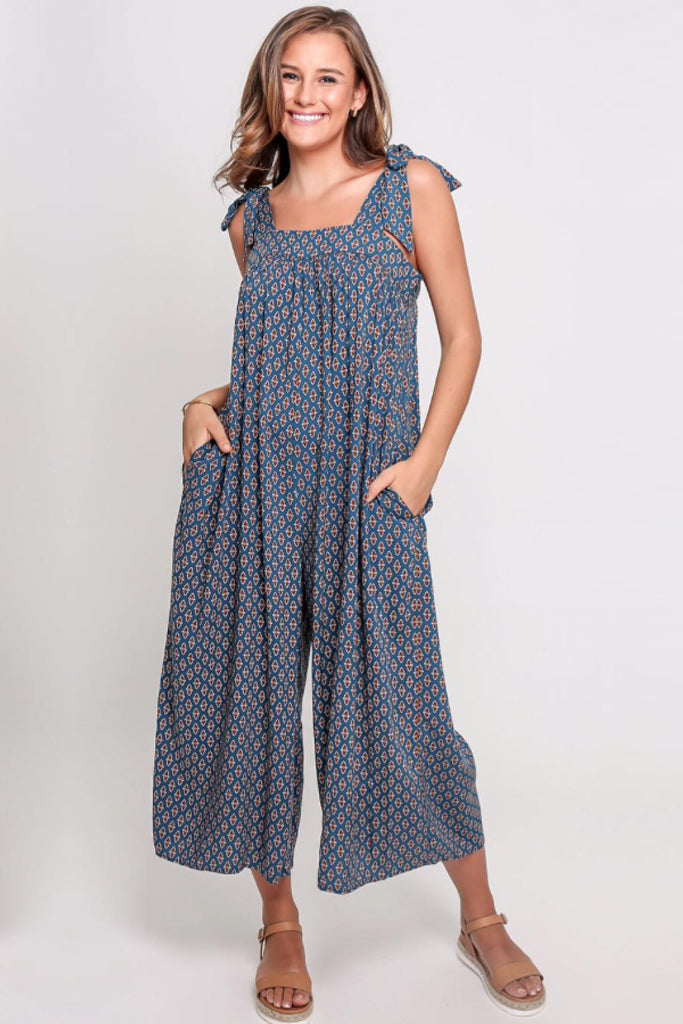 Riley Jumpsuit | Navy