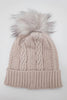Ruthie Cable Beanie | Nude