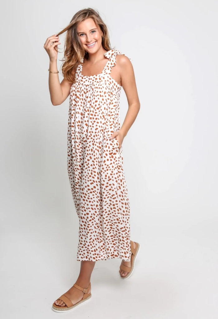 Riley Jumpsuit | White