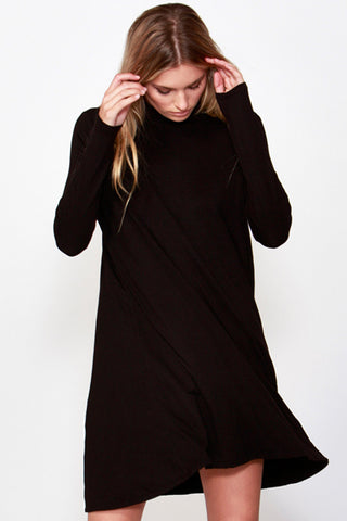 Jennifer Midi Dress | Black
