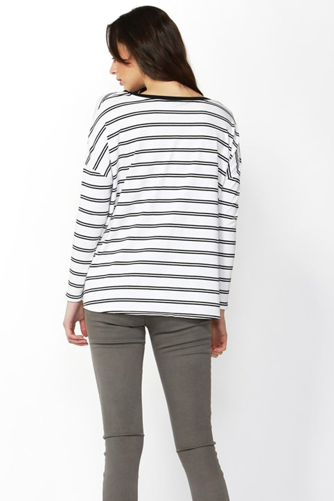 Willow Knot Top | Stripe