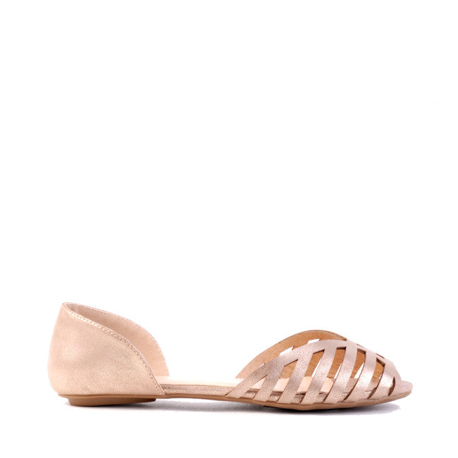 Basil Flats | Rose Gold