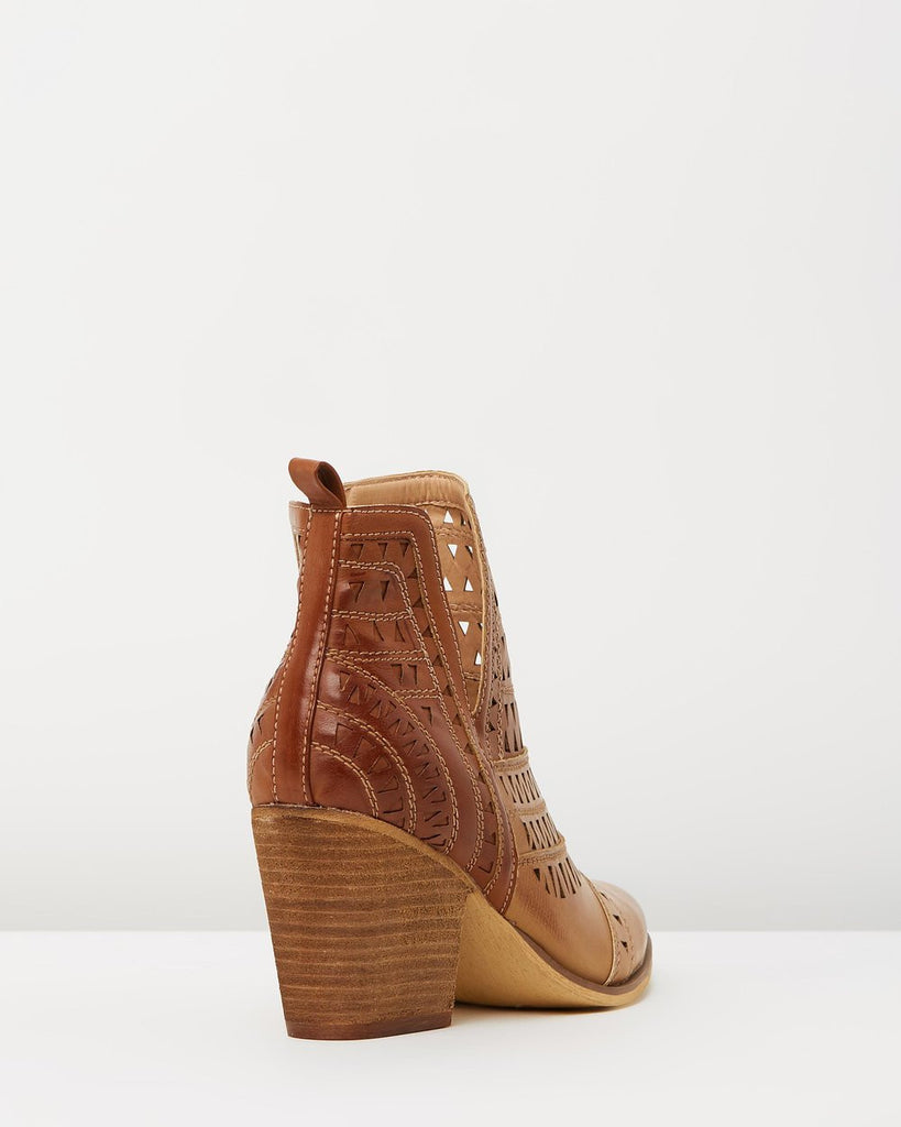 Karina Boot | Tan Multi