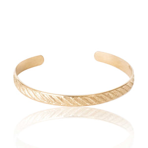 Gold Filled Rope Bracelet