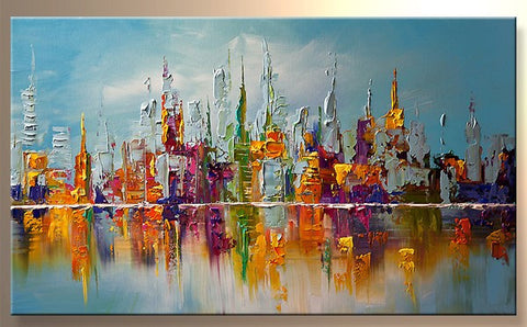 Abstract oil painting 0001
