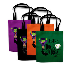 Frankenstein Halloween Trick or Treat Bag