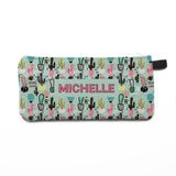Cute Cactus - Zipper Pouch, Pencil Case, Makeup Bag